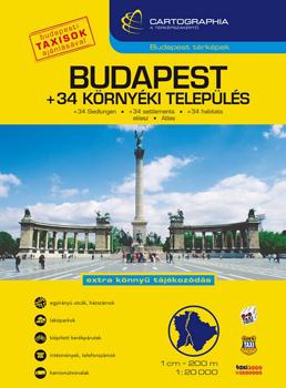 Atlas rutier Budapesta