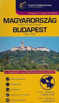 Atlas rutier Ungaria