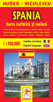 Ghid Turistic Spania Editura Niculescu