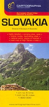 Ghid Turistic Slovacia Editura Cartographia R